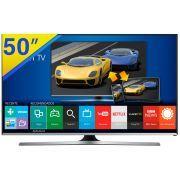 """Smart TV LED 50"""" Samsung Full HD com WiFi Integrado, Função Festa ,Painel Futebol, Games, ConnectShare, Conexões HDMI e USB - 50J5500"""