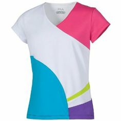 Fila Cap Sleeve Top Girls: Fila Junior Tennis Apparel by Fila. $25.00