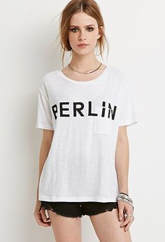 Berlin Graphic Tee | Forever 21 - 2000155333