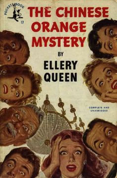 Ellery-Queen - The Chinese Orange Mystery
