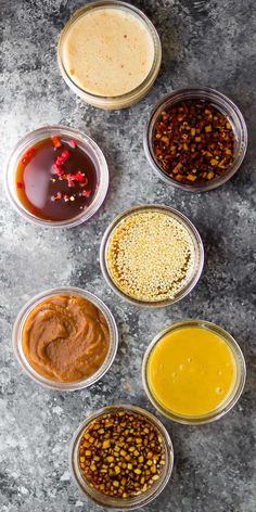 SEVEN easy stir fry sauce recipes you can make ahead and freeze. These are the BEST stir fry sauces, and they're each ready in just five minutes! SEVEN easy stir fry sauce recipes you can make ahead and freeze. They're each ready in just five minutes! Sauce Recipes, Cooking Recipes, Chinese Spices, Sweet Chili, Sauces, Asian Recipes, Food Videos, Food To Make, Salads