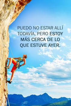 Échale un chorrito extra de motivación a tus días y acércate cada vez más a tu meta.