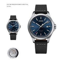 Exclusive hand-picked series of grand Swiss young adult timepiece. Automatic Watch, Watch Brands, Luxury Watches, Time Travel, Omega Watch, Leather, Designer Watches, Passion, Ebay