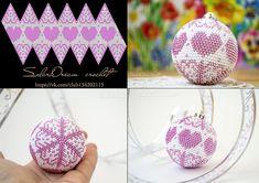 Схемы для Новогодних шариков от SolarDream – 40 photos | VK