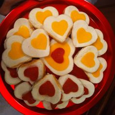 Easy Preschool Valentine Snack...Turkey pepperoni and cheese sandwiches!
