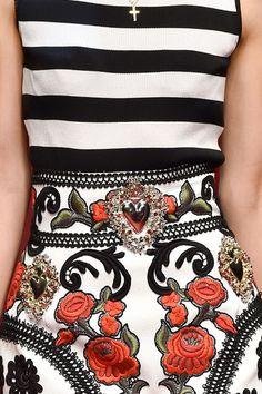 Dolce & Gabbana Spring 2015 - Details