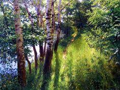работы художника Геннадия Кириченко. Геннадий Кириченко родился в 1968 году в Луганске. Рисовать начал очень рано. Художник вспоминает, как однажды увидел в парке художника, которые простым карандашом рисовал ствол дуба… И был поражен скрупулезной работой художника и происходящим на его глазах волшебством.
