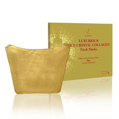 The neck is the most vulnerable to ageing lines, the most brilliant makeup techniques cannot disguise it. This 24k Gold Collagen Neck Mask is designed specifically to help reduce the appearance of fine lines and wrinkles. Used on its own to disguise the signs of aging, or in conjunction with Jamela's 24K Gold Facial Mask for the ultimate, indulgent home spa pampering experience. See amazing results after a 30 minute treatment - taut, smooth & firm skin.
