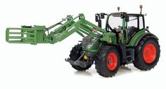 Fendt 516 Vario with Front Bale Grab (1/32)