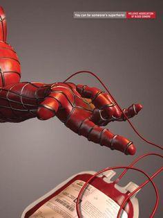 DONACION DE SANGRE. Conviértete en un superhéroe para alguien