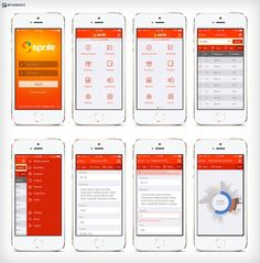 Mobile application UI design by Adhi Nugraha