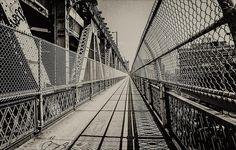Manhattan Bridge  Nikon FE film + digital processing  New York City, June 30, 2012