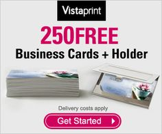 Vistaprint Au 250 Free Business Cards Coupon
