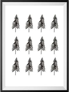 Modern Nordic Art Posters Faith Hope Love Geometric Deer Love Quote Simple Tree Painting Scandinavian Wall Art Home Decor Geometric Deer, Geometric Symbols, Canvas Artwork, Canvas Frame, Simple Tree, Nordic Art, Modern Frames, Canvas Quotes, Decorating With Pictures