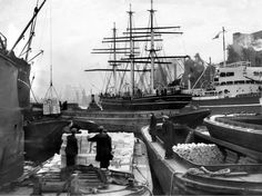 Cutty Sark being towed to Millwall Dry Dock for renovations in preparation for the Festival of Britain in when she was moored off Deptford for display. Old Greenwich, Greenwich London, London History, Uk History, Liverpool Docks, Classic Yachts, Merchant Navy, Old London, East London