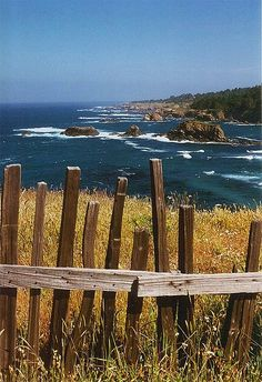 Mendocino... One of my favorite vacations