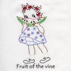 MAMAS LITTLE HELPER - Aunt Marthas Machine Embroidery   OregonPatchWorks
