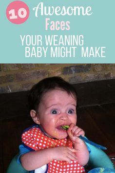 10 Baby Weaning Face