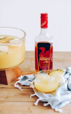 Honey Pineapple Punch for the perfect amount of sweet and spicy! YUM!