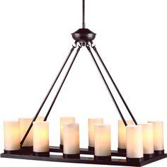 Warwick 12-Light Candle-Style Chandelier