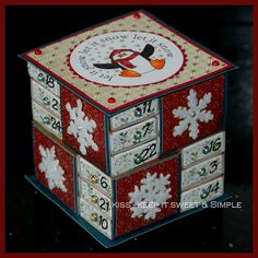 MatchBox Advent Calendar - by KISS - Keep It Simple