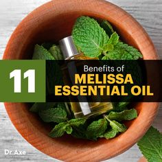 Melissa essential oil - Dr. Axe http://www.draxe.com #health #keto #holistic #natural #recipe