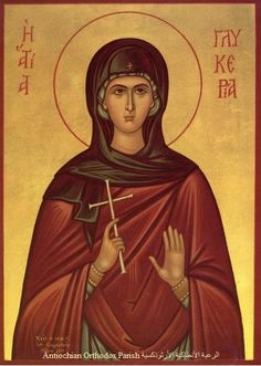 † Holy Virgin-martyr Glykeria at Heraclea (141)