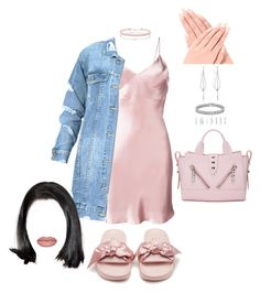 """""""Don't Judge Me Because I'm Different."""" by mrkr-lawson on Polyvore featuring Gilda & Pearl, Puma, Miss Selfridge, Forever 21, Apples & Figs, Diane Kordas and Kenzo"""