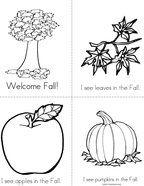Welcome Fall Mini Book