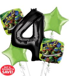 Teenage Mutant Ninja Turtles Balloons - Party City