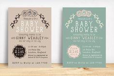 nice Baby Shower Invitation  CreativeWork247 - Fonts, Graphics, Themes, Tem...