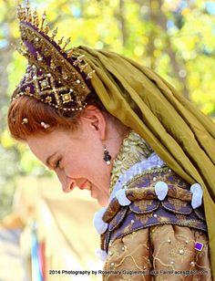 New Gown - Deirdre Sargent as Queen Elizabeth - NorCalRenFaire
