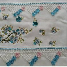 Crochet, Embroidered Towels, Crochet Fish, Dish Towels, Rugs, Ideas, Satin, Leather, Ganchillo