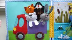 Яркая книжка для веселого карапуза! - Рукоделие - Babyblog.ru