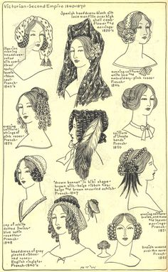Village Hat Shop Gallery :: Chapter 15 - Victorian and Second Empire 1840-1870 :: 238_G