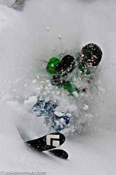 #Powderwhore #Telemark #Ski