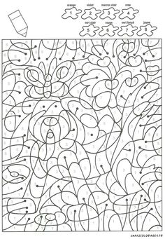 Tracing Worksheets, Preschool Worksheets, Free Coloring Pages, Coloring Books, Color By Numbers, Pre Writing, Scandinavian Christmas, Art School, Adult Coloring