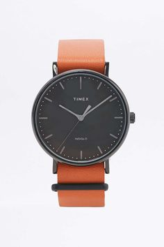 Timex Weekender Fairfield Orange Watch