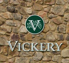 Vickery Village logo for a unique neighborhood in North Georgia