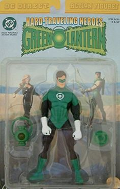 Hard Traveling Heroes  Green Lantern Action Figure by DC Comics