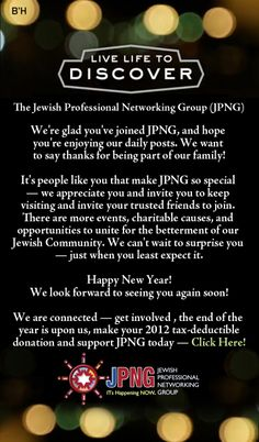 jpngs new years message from the