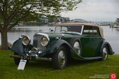 Photo gallery, award winners and results from the Greenwich Concours d'Elegance held June at the Roger Sherman Baldwin Park in Connecticut. Vintage Racing, Vintage Cars, Antique Cars, Roger Sherman, Bentley Rolls Royce, Lotus Car, Baldwin Park, Classic Cars, Photo Galleries