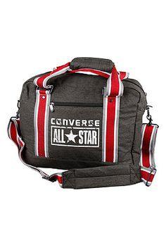 Converse black men's Chuck Taylor All Star Reporter bag