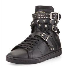 Saint Laurent (Ysl) Sneaker - Studs, Leather