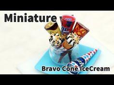 미니어쳐 부라보콘(아이스크림) 만들기 * Miniature - YouTube