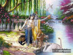 Krishna Balaram Wallpaper  click here for more sizes http://harekrishnawallpapers.com/krishna-balaram-artist-wallpaper-003/