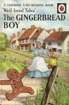 GINGERBREAD BOY Vintage Ladybird Book Well Loved Tales Series 606D Matt Hardback 1967