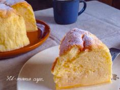 魔法のケーキ*勝手に3層*ふわふわとろりの画像