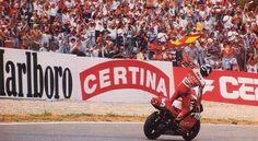 116 días para #GPJerez... Año1995. Alberto Puig gana por primera y única vez una carrera de 500cc. #JerezesMotor