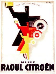 1925 by Charles Loupot Retro Ads, Vintage Advertisements, Vintage Ads, Motif Art Deco, Art Deco Design, Art Designs, Art Deco Posters, Cool Posters, Art Deco Car